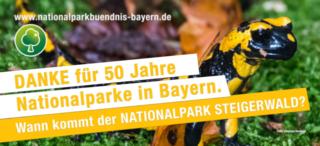 Danke für 50 Jahre Nationalparke in Bayern. Wann kommt der Nationalpark im Steigerwald?